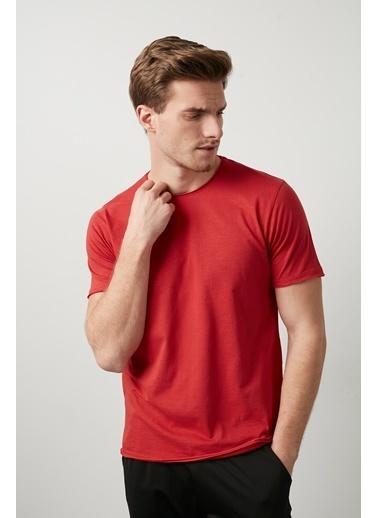 Buratti Buratti Bisiklet Yaka Erkek T-Shirt 0438202 Kırmızı